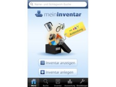 Mein Inventar Screen © Softjury GmbH