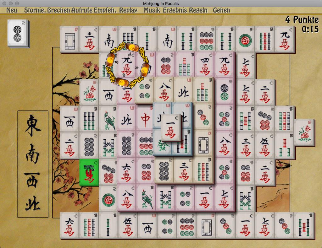 Screenshot 1 - Mahjong In Poculis (Mac)