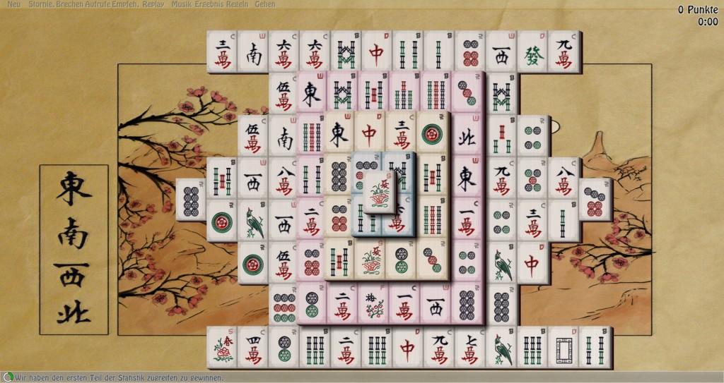 Screenshot 1 - Mahjong In Poculis