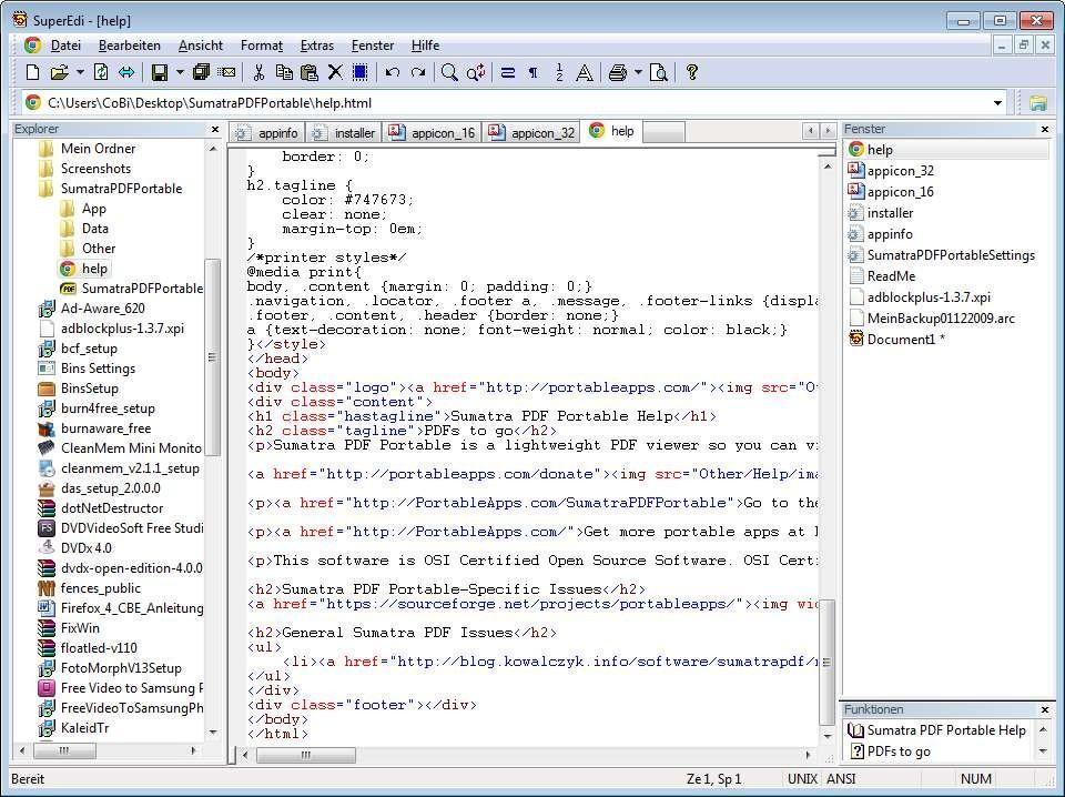 Screenshot 1 - SuperEdi
