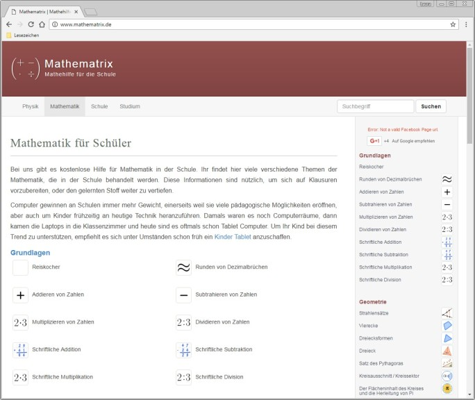 Screenshot 1 - Mathematrix
