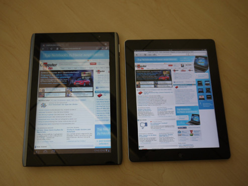 Android-Tablet: Acer Iconia Tab A500 ©COMPUTER BILD