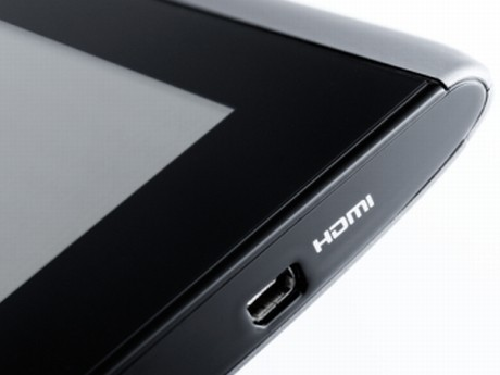 Micro-HDMI-Anschluss: Tablet Acer Iconia Tab A500 ©Acer