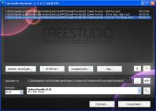"""Free Audio Converter: Der kostenlose """"Free Audio Converter"""" wandelt Ihre Musikdateien ins Format Ihrer Wahl um."""