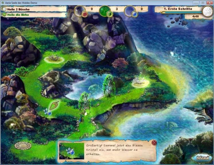 Screenshot 1 - Aerie: Seele des Waldes – Kostenlose Vollversion