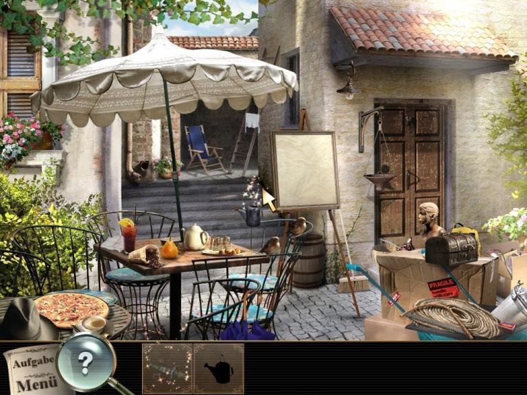 Screenshot 1 - Geheime Fälle: Vermisst in Rom – Kostenlose Vollversion