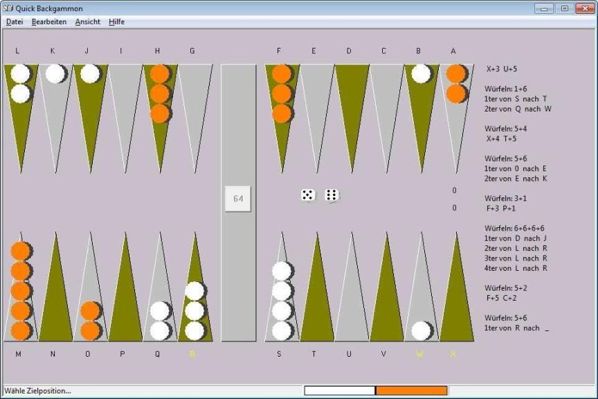 Screenshot 1 - Quick Backgammon