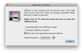 Caffeine (Mac)