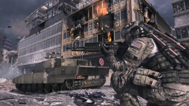 Actionspiel Call of Duty – Modern Warfare 3: Panzer ©Activision