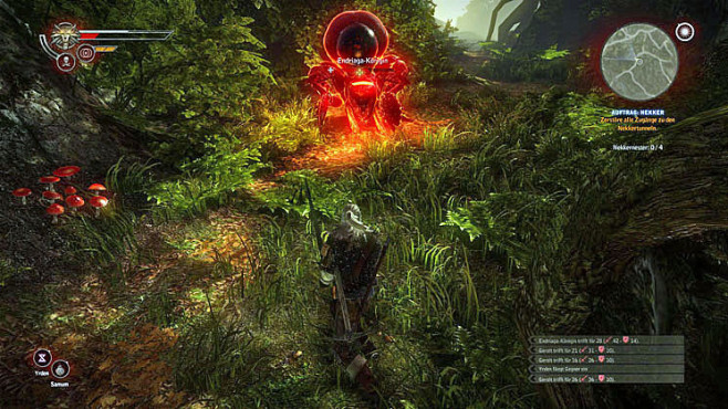 Boss-Guide The Witcher 2: Endriaga-Königin © Namco Bandai