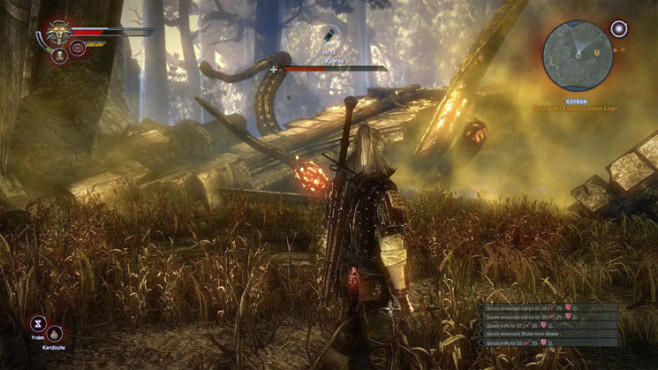 Boss-Guide The Witcher 2: Kayran ©Namco Bandai