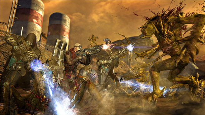 Actionspiel Red Faction – Armageddon: Angriff ©THQ