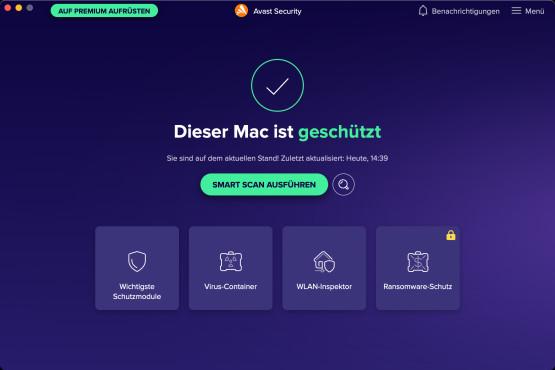 Screenshot 1 - Avast Free AntiVirus (Mac)