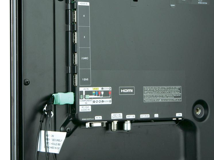 Test Flachbildfernseher Samsung Ue32d6200 Audio Video Foto Bild