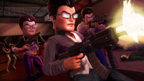 Actionspiel Saints Row – The Third: Gat-Maske © THQ