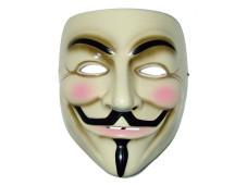 Maske der Hackergruppe Anonymus©COMPUTER BILD
