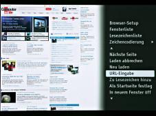Internetfunktion Sony BDP-S580©COMPUTER BILD