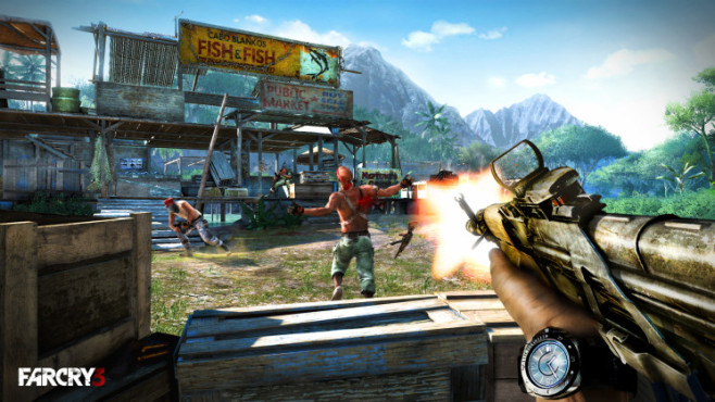 Actionspiel Far Cry 3: Brody © Ubisoft