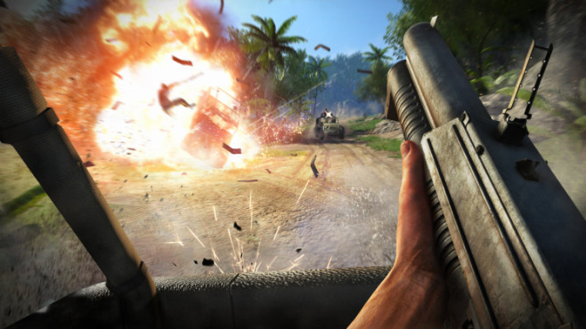 Actionspiel Far Cry 3: Explosion © Ubisoft