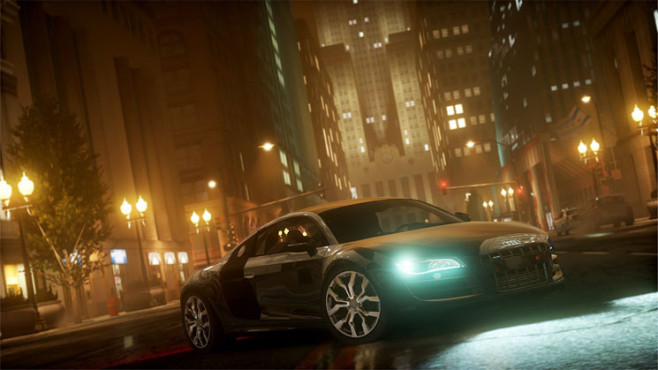 Rennspiel Need for Speed – The Run: Audi R8 ©Electronic Arts