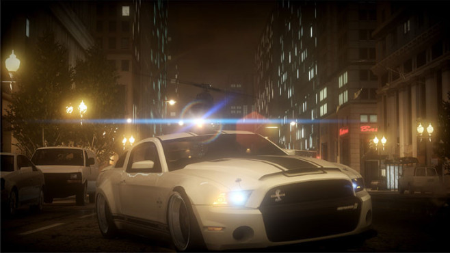Rennspiel Need for Speed – The Run: Ford Mustang ©Electronic Arts
