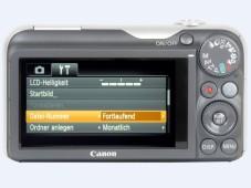 Rückansicht: Canon Powershot SX220 HS©COMPUTER BILD