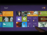 Windows 8 Start Screen 2 © YouTube.com