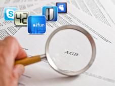 AGB von App-Anbietern durchleuchtet©Fotolia.com