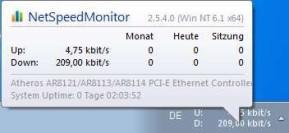 NetSpeedMonitor (64 Bit)
