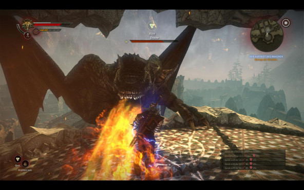 Boss-Guide The Witcher 2: Drache © Namco Bandai