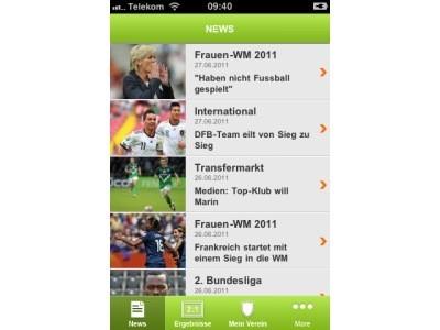 Fussball.de Screen ©COMPUTER BILD