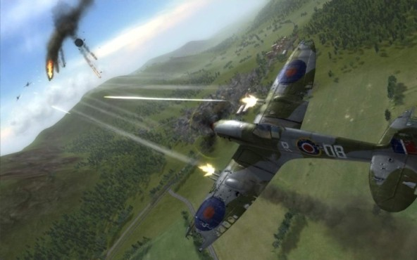 Actionspiel Air Conflicts – Secret Wars © dtp entertainment