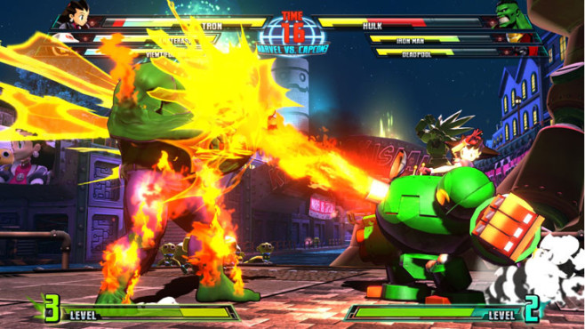 Marvel vs. Capcom 3 – Fate of Two Worlds: Angriff © Capcom