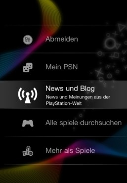 Offizielle Playstation-App © Sony