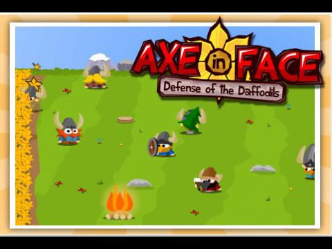 Axe in Face ©Blue Carrot Games