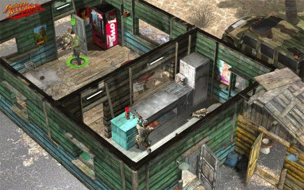 Jagged Alliance – Back in Action: Deckung ©Bit Composer