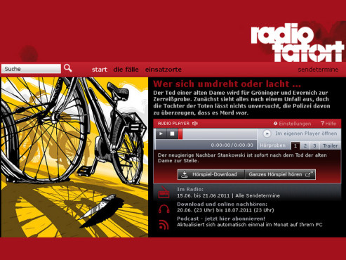 Screenshot Radio-Tatort © COMPUTER BILD