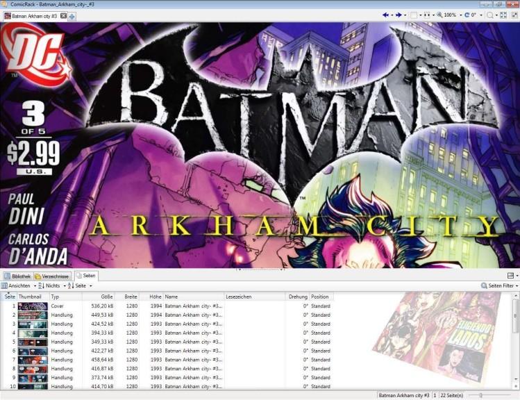 Screenshot 1 - ComicRack