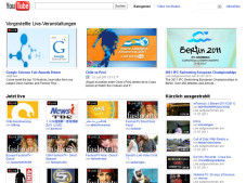 YouTube: Kein Live-Streaming in Deutschland