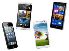 Neu bei COMPUTER BILD: Die interaktive Smartphone-Kaufberatung Mit fünf Klicks zum perfekten Smartphone: Die interaktive Kaufberatung von COMPUTER BILD hilft.©Apple, HTC, Samsung, Nokia