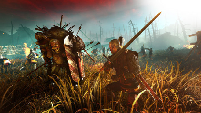 Actionspiel The Witcher 2 – Assassins of Kings: Feld ©Namco Bandai