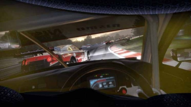 Rennspiel Need for Speed – Shift 2 Unleashed: Cockpit ©Electronic Arts