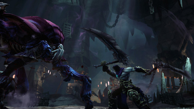 Darksiders 2: gigantische Käfer © THQ