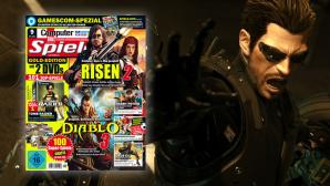 Vorschau CBS 9/2011: Deus  Ex Human Revolution, Diablo 3, Risen 2