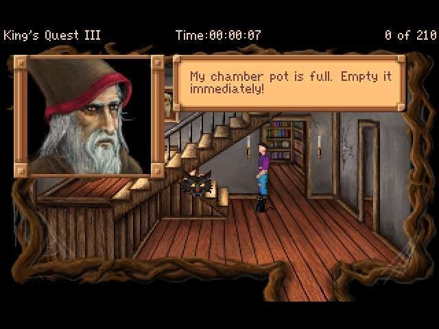 Screenshot 1 - King's Quest 3 – To Heir is Human