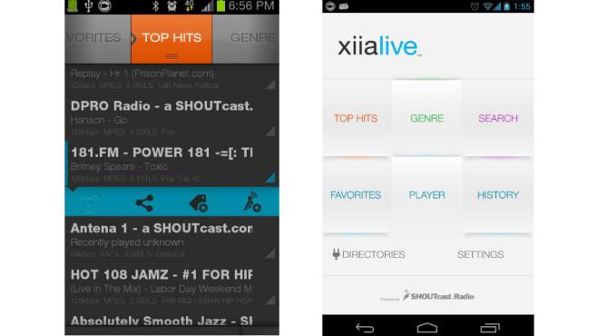 Platz 3: XiiaLive ©Google
