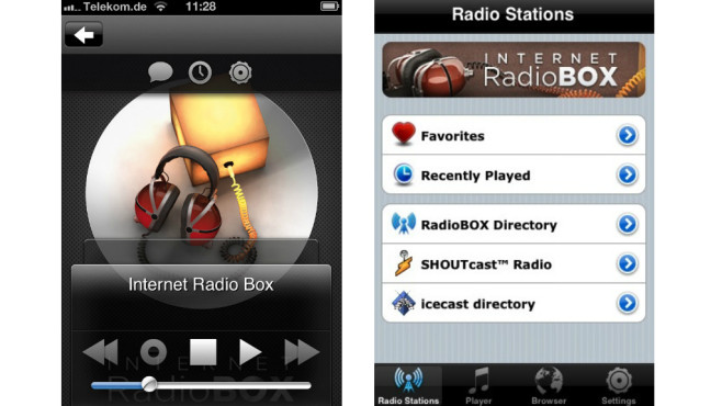 Platz 4: Internet Radio Box ©Google