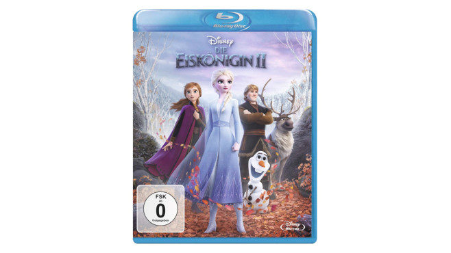 1. Platz (Filme): Die Eiskönigin 2 © Sony Pictures Home Entertainment