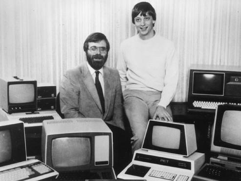 Paul Allen und Bill Gates 1981 ©Microsoft