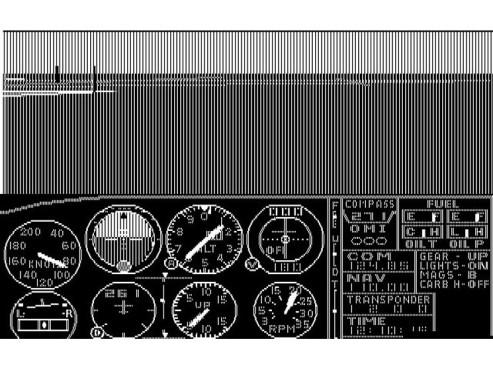 Screenshot Microsoft Flight Simulator ©COMPUTER BILD